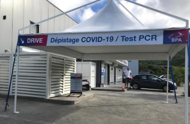 Saint-Martin : Ouverture d'un Drive à Hope Estate pour le dépistage de la COVID-19