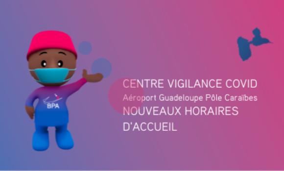 Actualités COVID-19 : Le centre vigilance COVID élargit ses horaires d'accueil